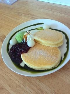ひだまりカフェパンケーキ.JPG