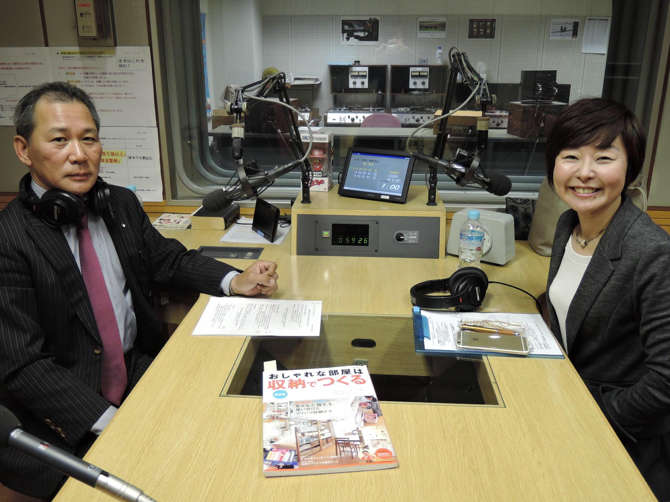 先週に引き続き、ゲストは整理収納コンサルタント 江川佳代さん