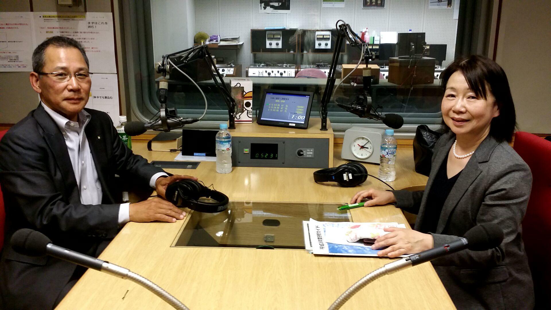 先週に引き続き、ゲストは広島県自治総合研修センター所長 本廣篤子さん