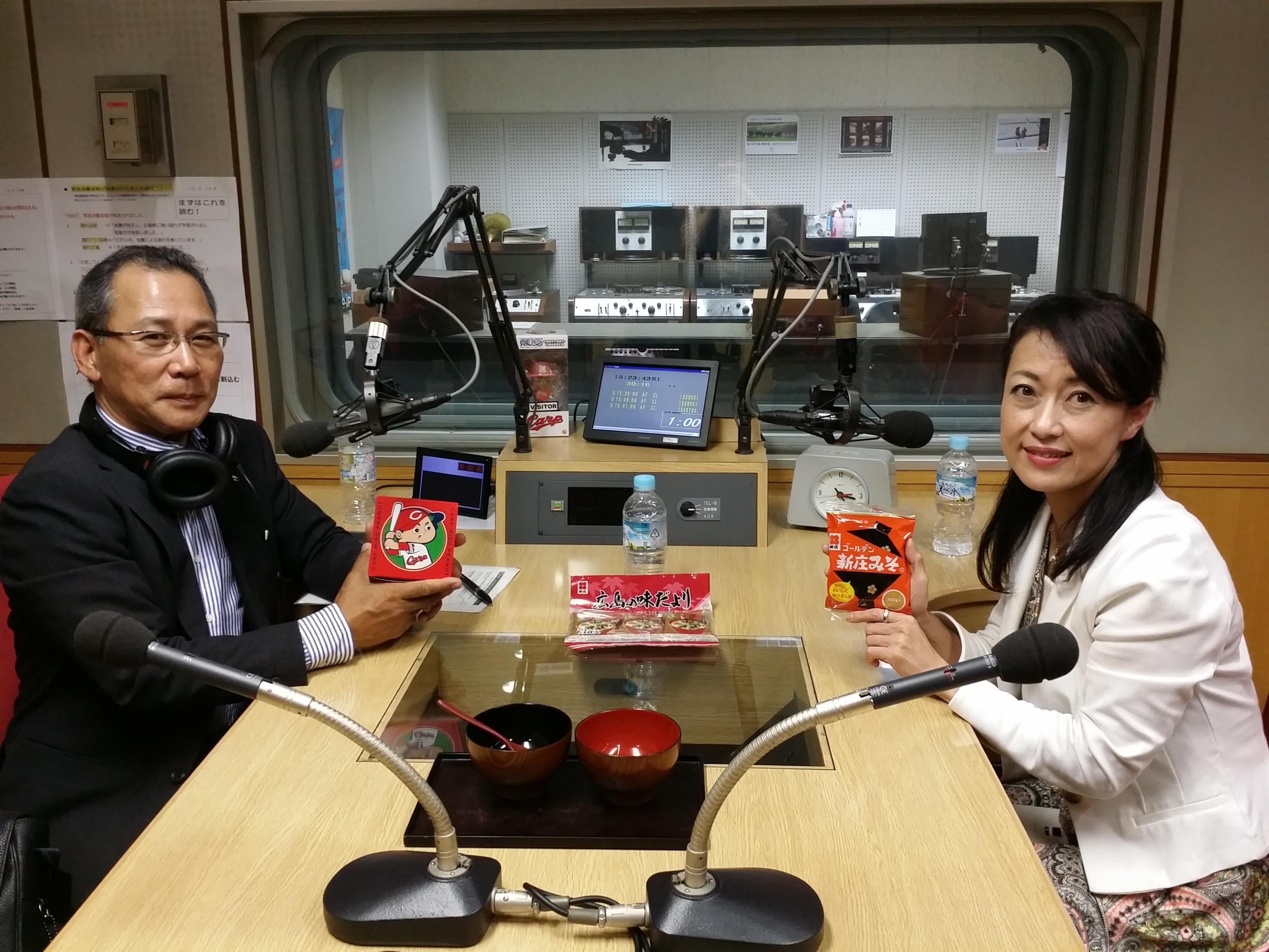 先週に引き続き、ゲストは新庄みそ株式会社 取締役 山本美香さん