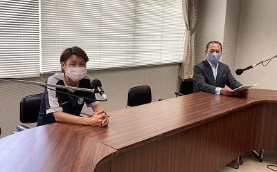 第144回ゲスト サンフレッチェ広島レジーナ キャプテン 近賀ゆかりさん(前編)